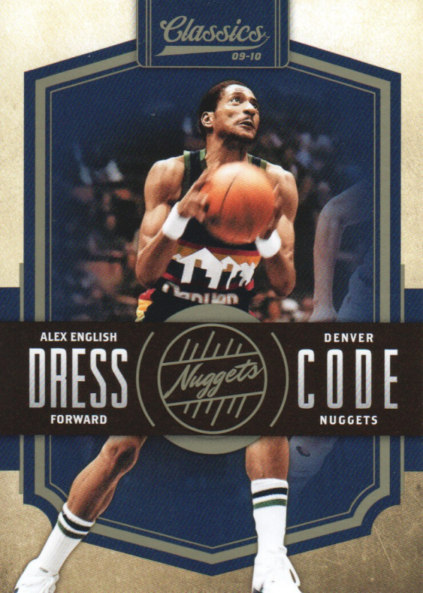 2009-10 Classics Dress Code #2 Alex English