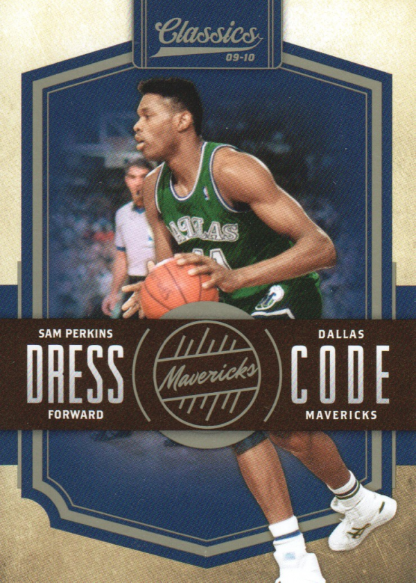 2009-10 Classics Dress Code #10 Sam Perkins
