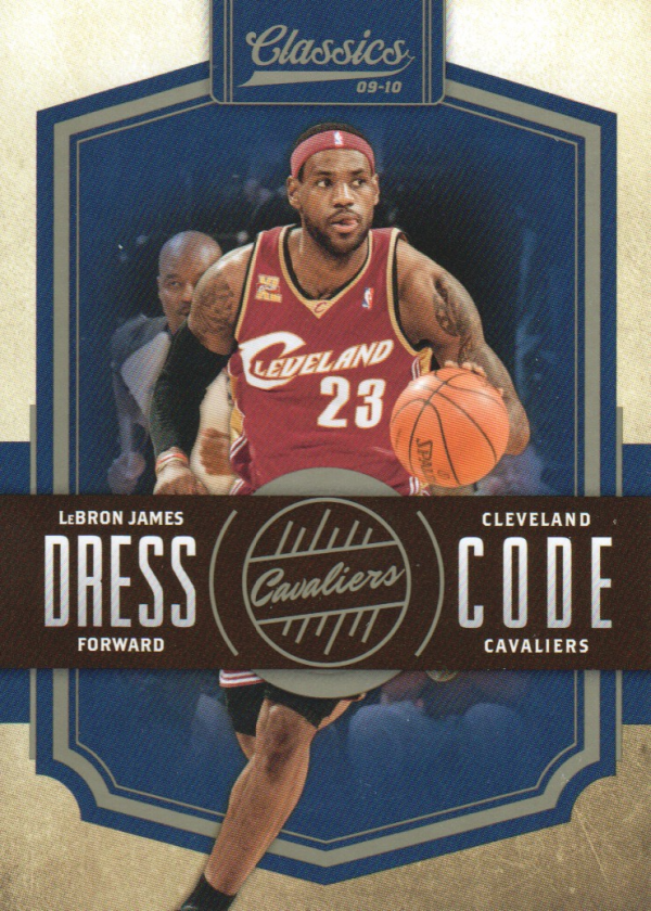 2009-10 Classics Dress Code #18 LeBron James