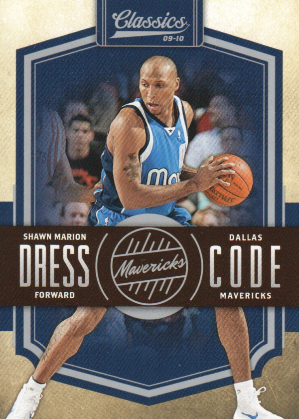 2009-10 Classics Dress Code Silver #8 Shawn Marion