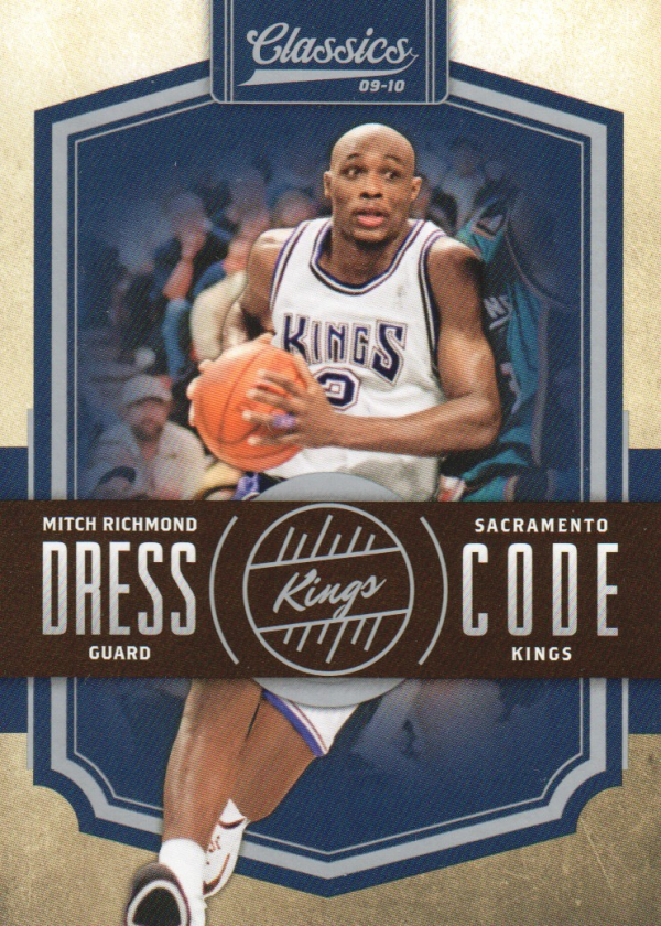 2009-10 Classics Dress Code Silver #21 Mitch Richmond
