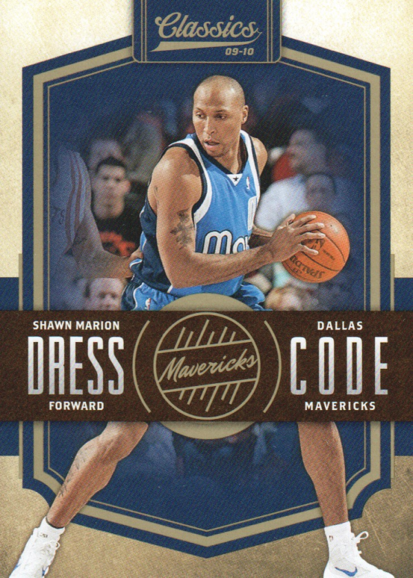 2009-10 Classics Dress Code Gold #8 Shawn Marion