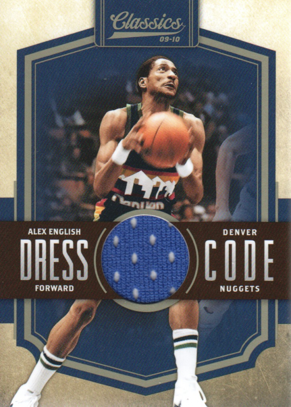 2009-10 Classics Dress Code Jerseys #2 Alex English/199