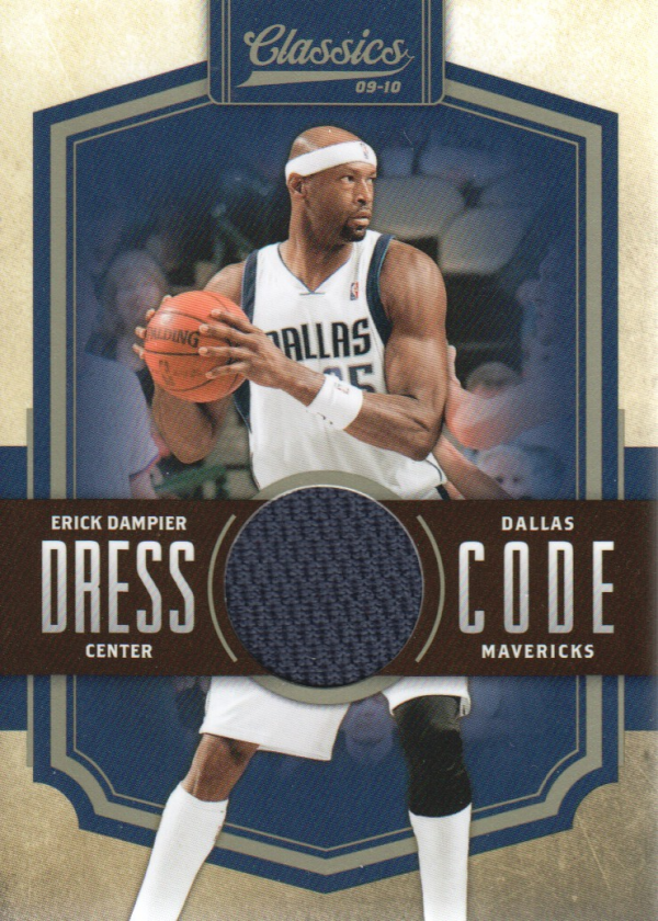 2009-10 Classics Dress Code Jerseys #13 Erick Dampier/199