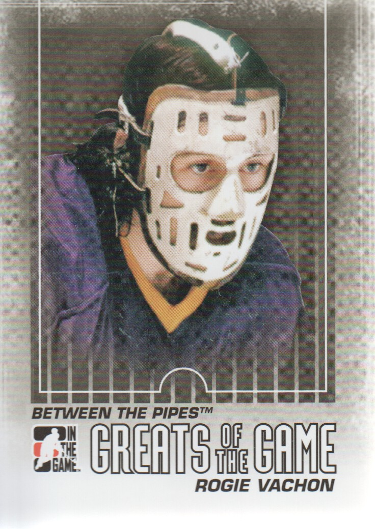 2009-10 Between The Pipes #135 Rogie Vachon