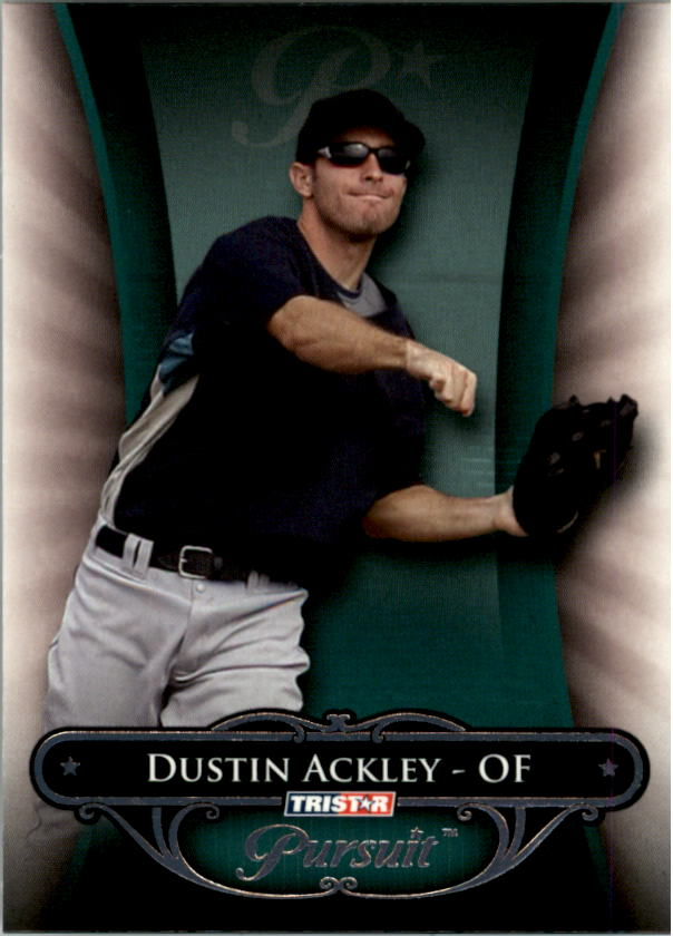 2010 TRISTAR Pursuit #1b Dustin Ackley VAR SP