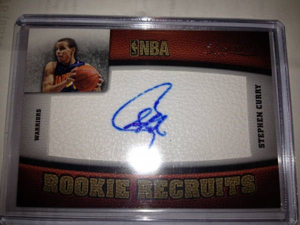 2009-10 Timeless Treasures #106 Stephen Curry AU RC