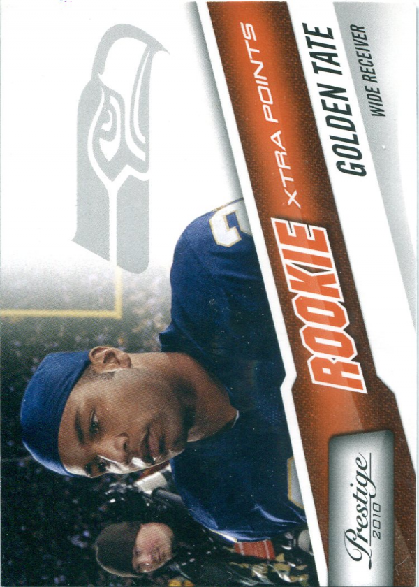 2010 Prestige Xtra Points Orange #245 Golden Tate