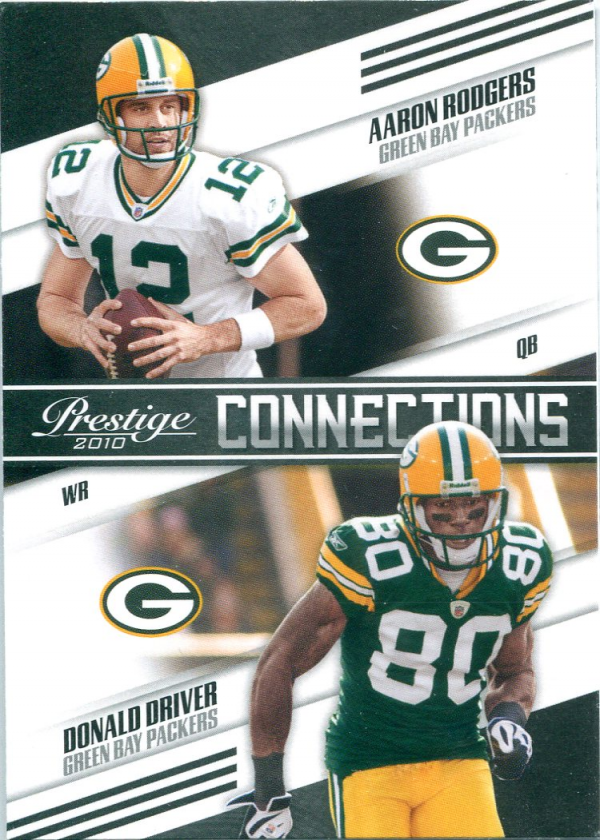 2010 Prestige Connections #17 Aaron Rodgers/Donald Driver