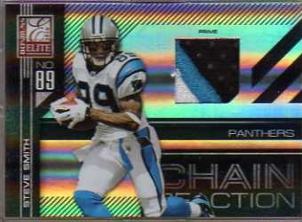 2010 Donruss Elite Chain Reaction Jerseys Prime #20 Steve Smith