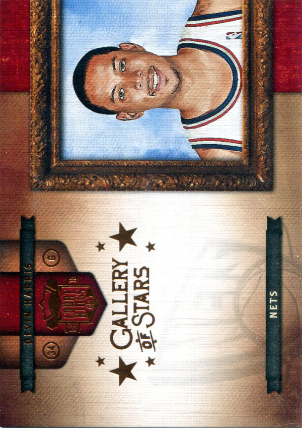 2009-10 Court Kings Gallery of Stars Bronze #4 Devin Harris