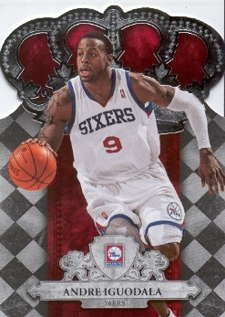 2009-10 Crown Royale #13 Andre Iguodala
