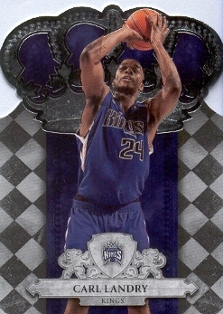 2009-10 Crown Royale #24 Carl Landry