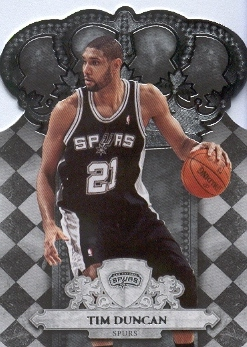 2009-10 Crown Royale #33 Tim Duncan