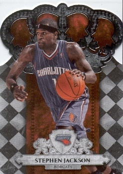 2009-10 Crown Royale #73 Stephen Jackson