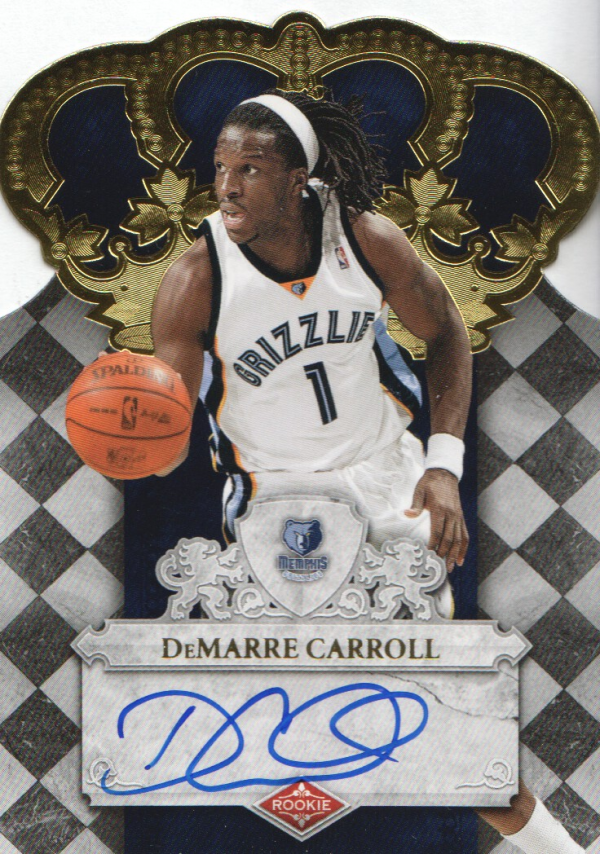 2009-10 Crown Royale #127 DeMarre Carroll AU/699 RC