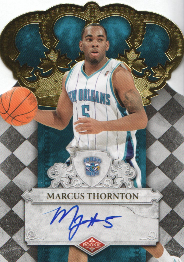 2009-10 Crown Royale #133 Marcus Thornton AU/669 RC