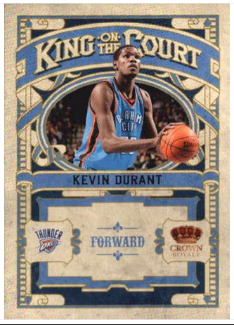 2009-10 Crown Royale King on the Court #5 Kevin Durant