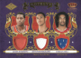 2009-10 Crown Royale Rookie Royalty Materials #10 James Johnson/Jeff Pendergraph/Jordan Hill