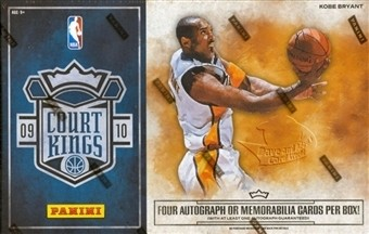 2009-10 Court Kings Basketball Hobby Box