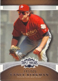 2010 Topps Triple Threads Sepia #96 Lance Berkman
