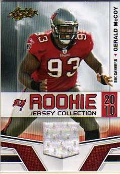 2010 Absolute Memorabilia Rookie Jersey Collection #15 Gerald McCoy