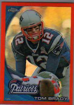 2010 Topps Chrome Orange Refractors #C80 Tom Brady