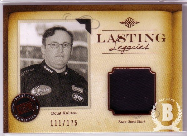 2010 Press Pass Legends Lasting Legacies Copper #LLCK Connie Kalitta