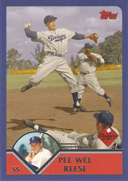 2010 Topps Vintage Legends Collection #VLC44 Pee Wee Reese