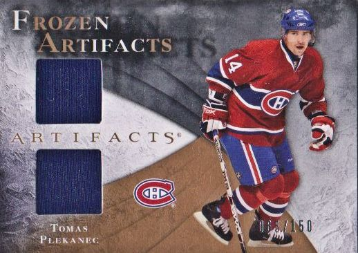 2010-11 Artifacts Frozen Artifacts #FATP Tomas Plekanec