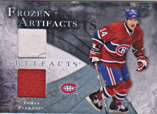 2010-11 Artifacts Frozen Artifacts Blue #FATP Tomas Plekanec