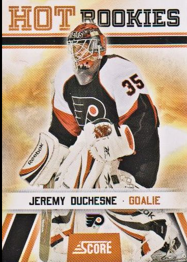 2010-11 Score #528 Jeremy Duchesne HR RC