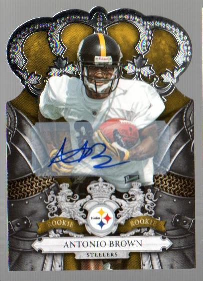 2010 Crown Royale Autographs #107 Antonio Brown/249