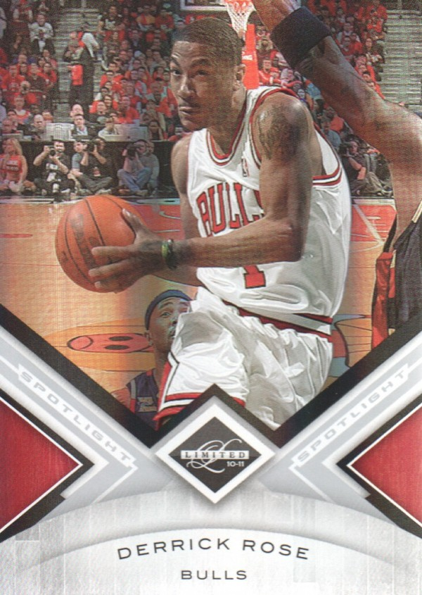 2010-11 Limited Silver Spotlight #20 Derrick Rose
