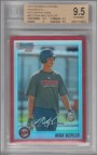 2010 Bowman Chrome Prospects Red Refractors #BCP203A Max Kepler