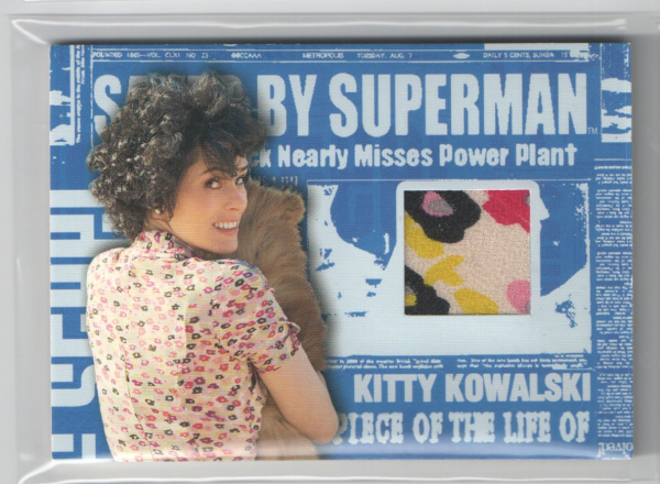 2006 Superman Returns Saved By Superman Memorabilia #3 Kitty's Flower Dress