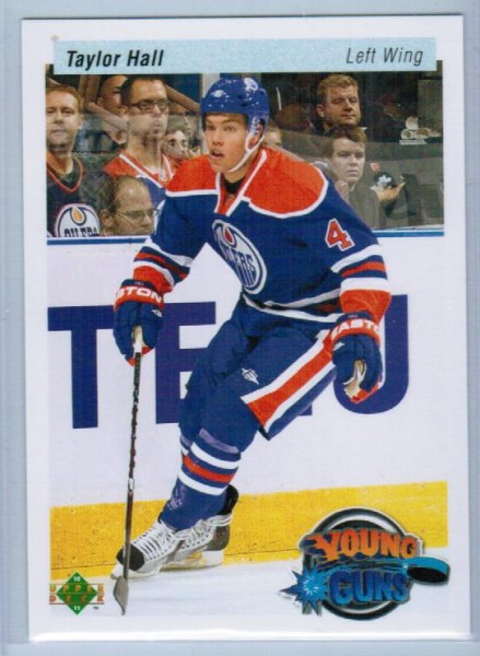 2010-11 Upper Deck 20th Anniversary Parallel #219 Taylor Hall YG