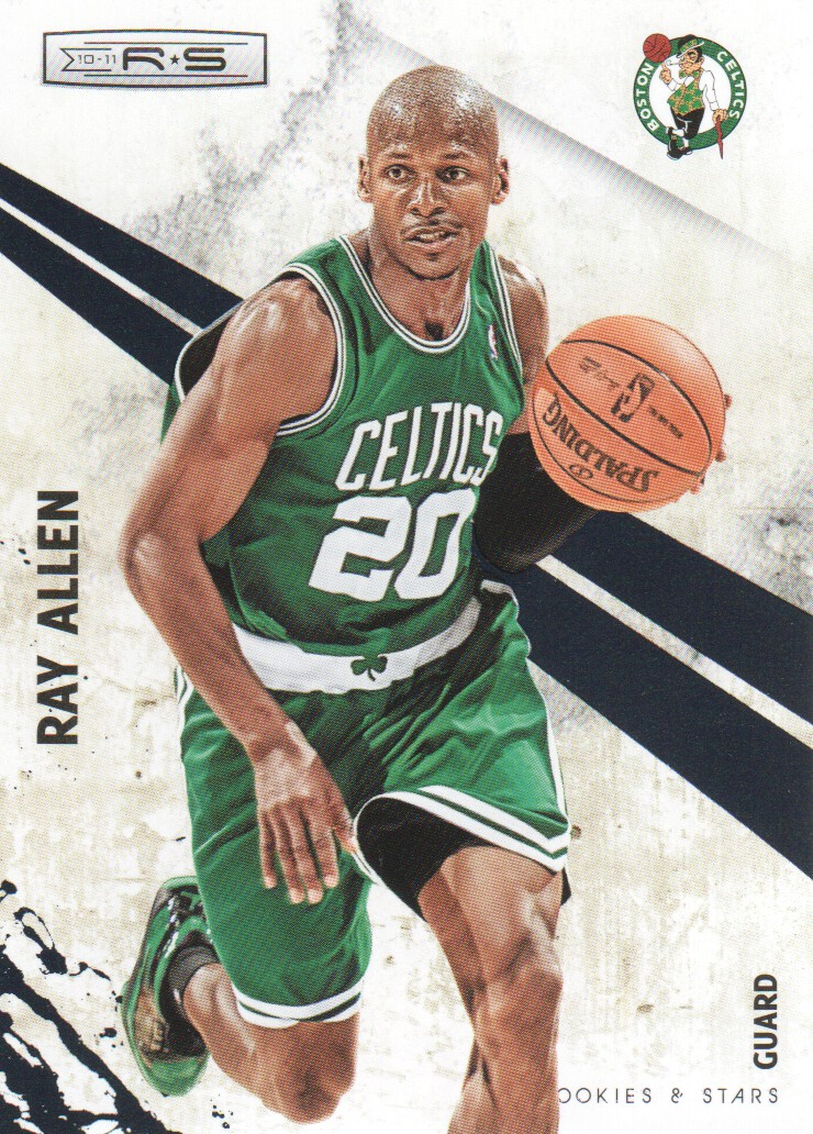 2010-11 Rookies and Stars #1 Ray Allen