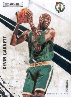 2010-11 Rookies and Stars #4 Kevin Garnett