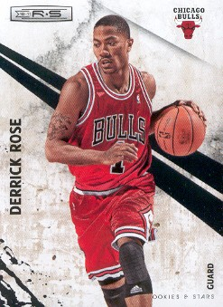 2010-11 Rookies and Stars #18 Derrick Rose