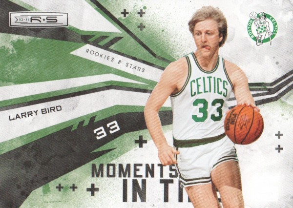 2010-11 Rookies and Stars Moments in Time #7 Larry Bird