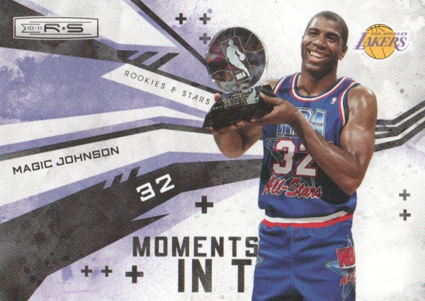 2010-11 Rookies and Stars Moments in Time #8 Magic Johnson