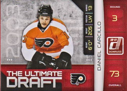 2010-11 Donruss The Ultimate Draft #24 Daniel Carcillo