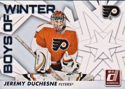 2010-11 Donruss Boys of Winter #78 Jeremy Duchesne