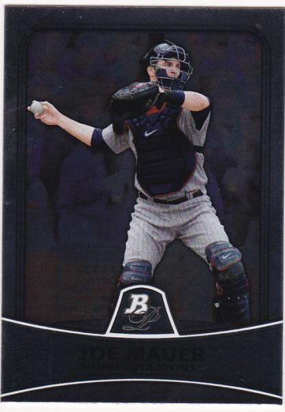 2010 Bowman Platinum #14 Joe Mauer