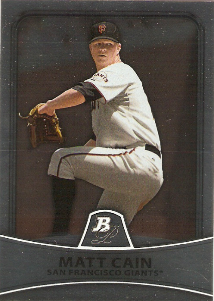 2010 Bowman Platinum #93 Matt Cain