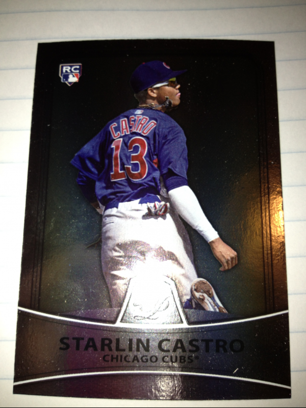 2010 Bowman Platinum #96 Starlin Castro RC