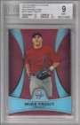 2010 Bowman Platinum Prospects Red Refractors #PP5 Mike Trout