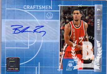 2010-11 Donruss Craftsmen Signatures #13 Brandon Roy/5