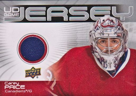 2010-11 Upper Deck Game Jerseys #GJ2CP Carey Price